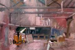 Titian's Studio (now stonemason's workshop), Venice, 2010