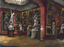 The North Gallery at Petworth House, 1996