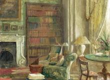 Library at Newbridge House